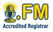 Логотип домена FM