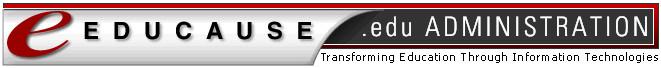 Администратор домена .EDU — консорциум EDUCAUSE