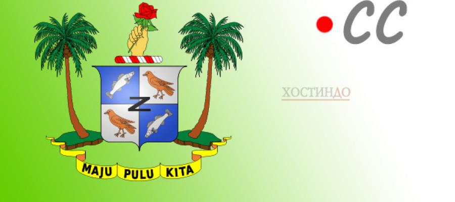 Доменная зона .CC — пальмы, океан, кокосы