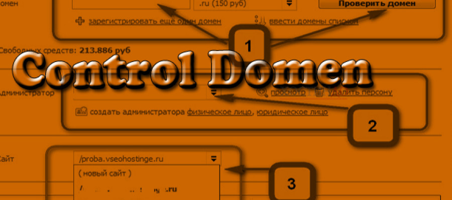 Как правильно управлять доменами в TimeWeb