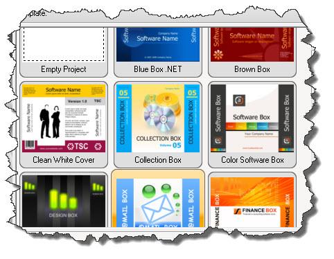 TBS Cover Editor — варианты шаблонов 3D-обложек